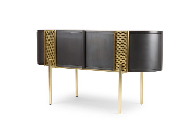 Believe Metal Sideboard by Lorenza Bozzoli for Mingardo For Sale 5
