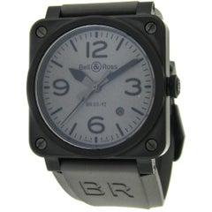 Bell & Ross Ceramic Commando Self-Winding Wristwatch