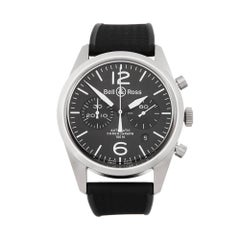 Bell and Ross BR126 Stainless Steel Men's BR126