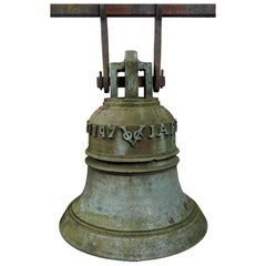 Bell of the Dutch Colonial VOC Fortress in Jaffna, Sri Lanka