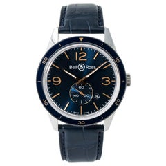 Bell & Ross Aeronavale BR123-95, Black Dial, Certified and Warranty