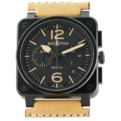 Bell & Ross Aviation BR 03-94, Black Dial, Certified and Warranty
