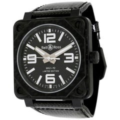 Bell & Ross BR 01 BR01-92-C, Black Dial, Certified and Warranty