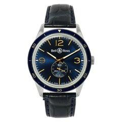 Bell & Ross BR 123 Aeronavale Blue Dial Watch