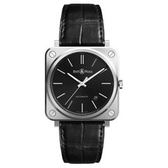Bell & Ross BR S-92 Black Steel Wristwatch