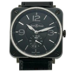 Bell & Ross BR-S BR S 98, Black Dial, Certified and Warranty