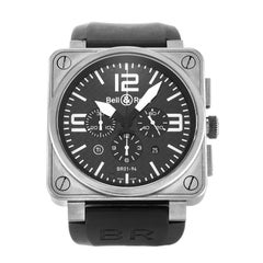 Bell & Ross BR01-94 Titanium and Stainless Steel Watch