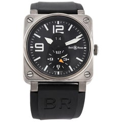 Bell & Ross BR03-51 GMT Titanium and Stainless Steel Watch