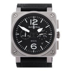 Bell & Ross BR03-94 Chronograph BR03-94 Men Stainless Steel 0 Watch