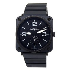 Bell & Ross BRS BRS-98-BCS, Black Dial, Certified and Warranty
