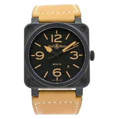 Bell & Ross Golden Heritage Stainless Steel Watch