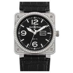 Bell & Ross Grande Date Diamond Watch BR01-96