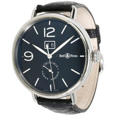 Bell & Ross Vintage WW1 BRWW190-BL-ST/SCR Men's Watch in Stainless Steel