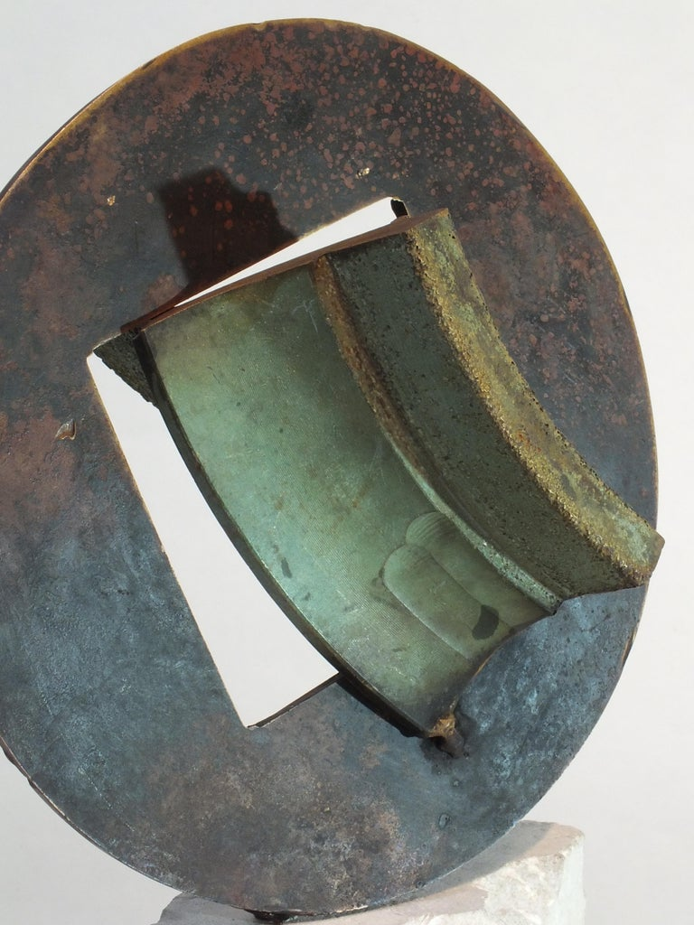 Bell Stone, Cast Bronze Sculpture In New Condition For Sale In Boughrood, Powys