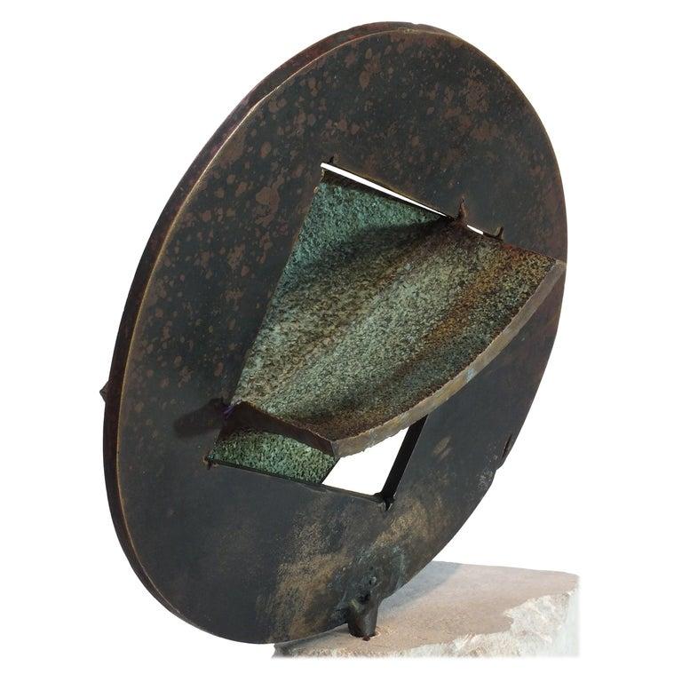 Bell Stone, Cast Bronze Sculpture For Sale