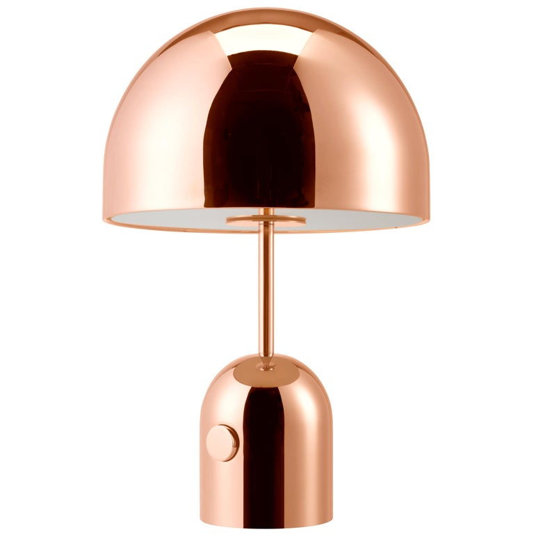 For Sale: Gold (copper.jpg) Bell Table Light by Tom Dixon