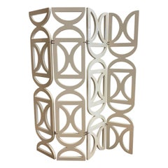 Bella Loco Europe French Modern Four Panel Wall Divider