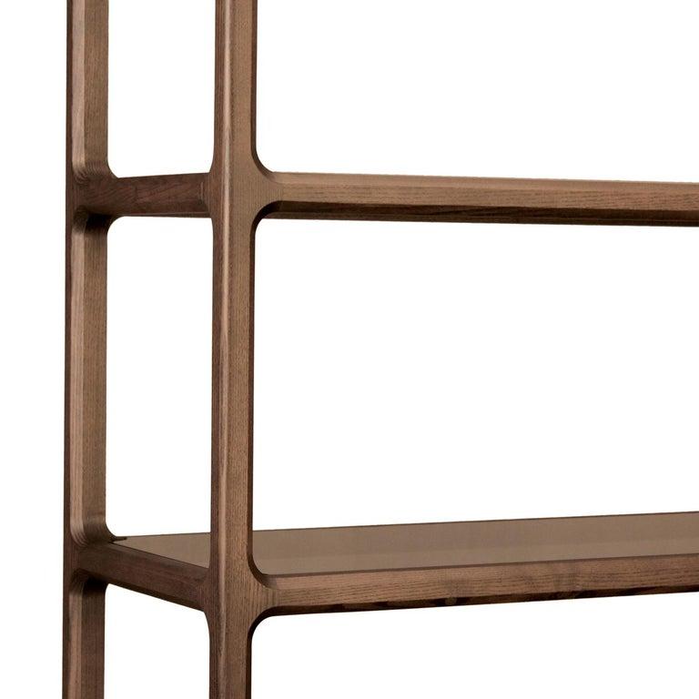 Contemporary Bellagio Bookcase by Libero Rutilo For Sale