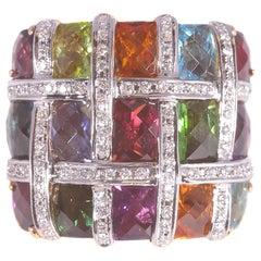 Bellarri Diamond Gemstone Ring
