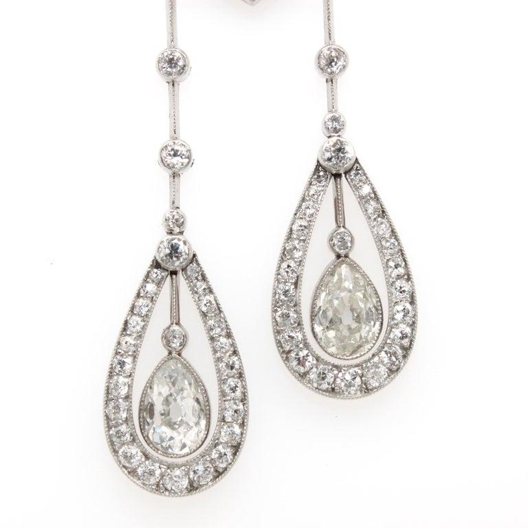 Women's Belle Époque Diamond Negligee Lavalier, 1900 For Sale