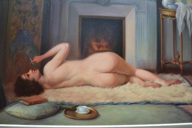 Belle Époque Belle Epoque Female Nude Signed De Groux For Sale