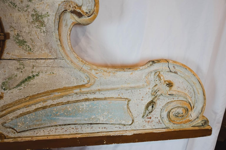 Belle Époque French Carousel Panel In Good Condition For Sale In Houston, TX