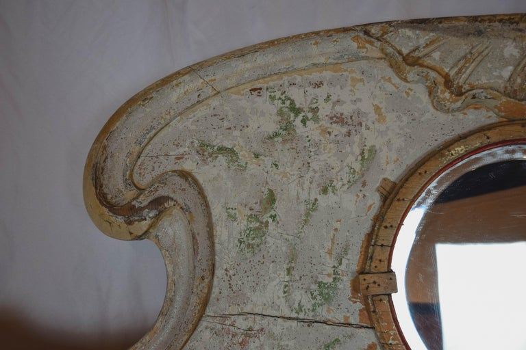 Mirror Belle Époque French Carousel Panel For Sale