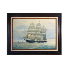 Belle of the Seas Painting by Roger Chapelet
