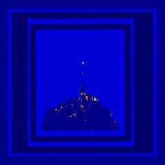 Project Flight of a Diamond over Mont Saint Michel:  LUMIERE DU MONT
