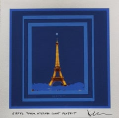 Project Diamond Flight over the Eiffel Tower: LADY EIFFEL GREETING LIBERTY