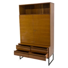 Belmondo Cabinet with Shelves and Drawers in High Gloss Finish, 1970