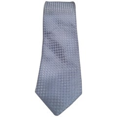 Belmonte light blue silk tie