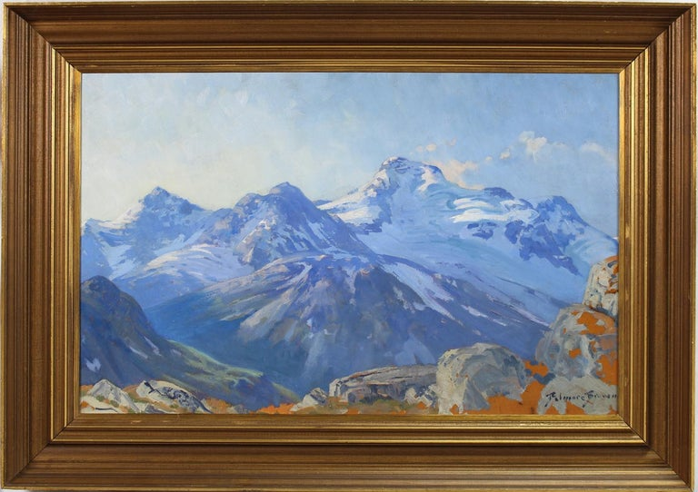 Mountain Landscape - Painting by Belmore Browne
