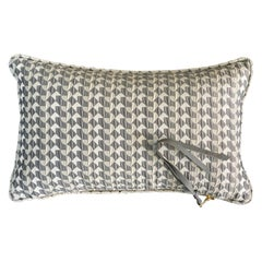 Belo II Pattern Cushion Curvature Collection Inspired by Brazilian Architecture
