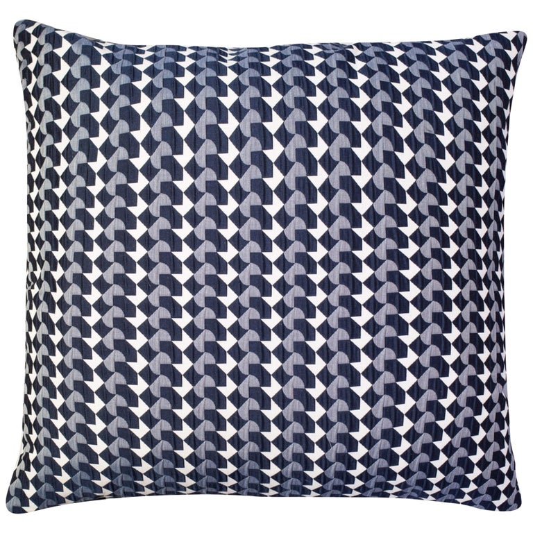 Belo Pattern Cushion Curvature Collection Inspired by Brazilian Architecture For Sale