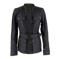 Belstaff Trialmaster Women's Waxed Jacket SIZE UK 8 US 6