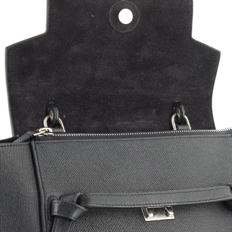 Belt Bag Textured Leather Micro For Sale 4
