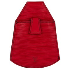 Belt Pouch Louis Vuitton Sherwood in red epi leather !