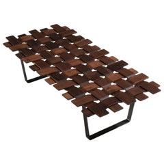 Belt Walnut Bench by Porada