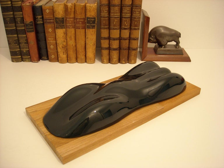 Lacquered Belzoni, a Racing Car Sculpture,