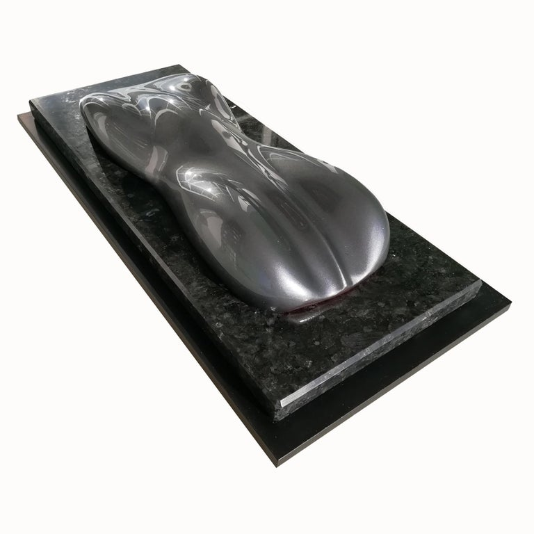 French Belzoni, a Racing Car Sculpture,