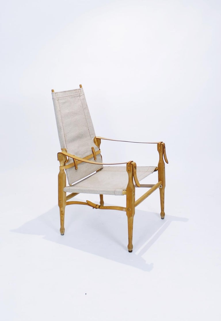 There are two original Marstaller Safari chairs, the so-called