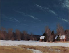Ben Bauer - Grant Township Farm by Moonlight