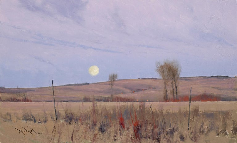 Ben Bauer, When We Walk These Fields 2 - Painting by Ben Bauer