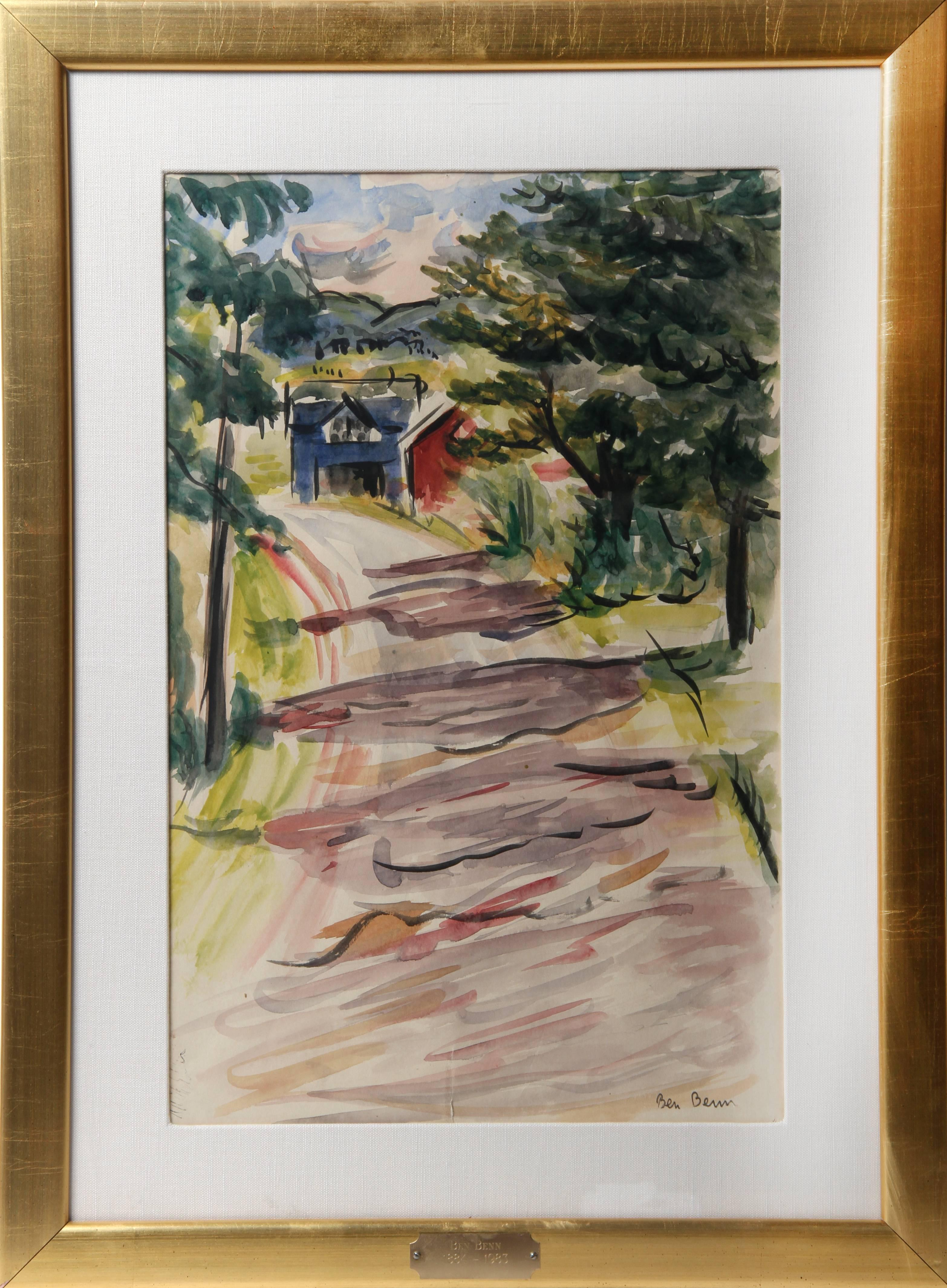 Farm Lane by Ben Benn