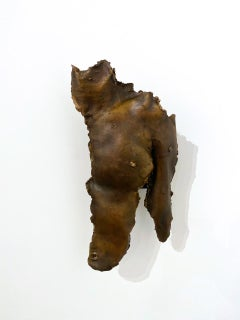 """""""Untitled (Fragmented Bust)"""" Bronze Sculpture 19.5"""" x 10"""" x 6"""" inch by Ben Cope"""