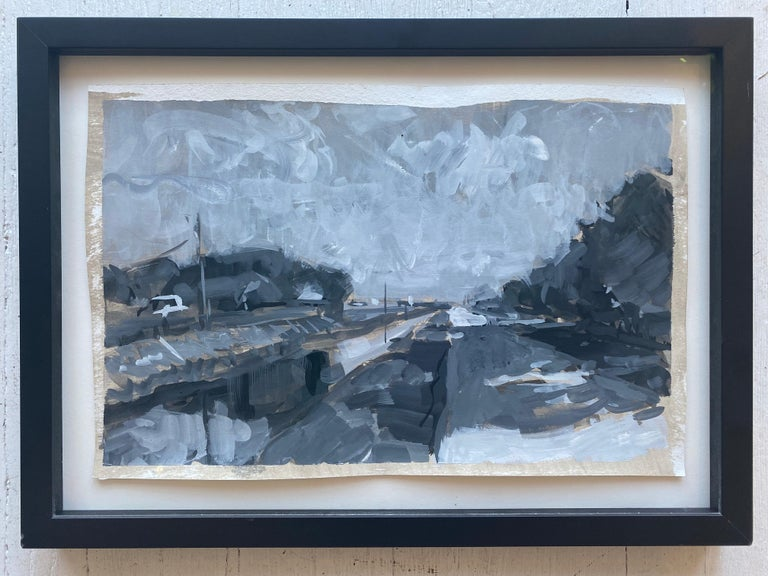 Ben Fenske Landscape Art - Canal at Indian Mound Road