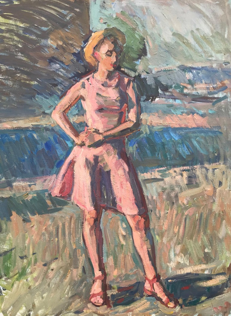 Ben Fenske Portrait Painting - Hanna Sketch