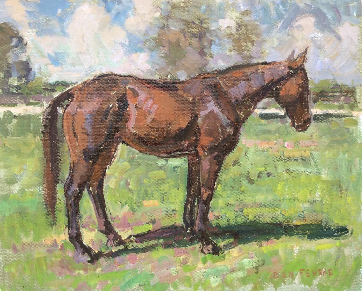 Horse Standing