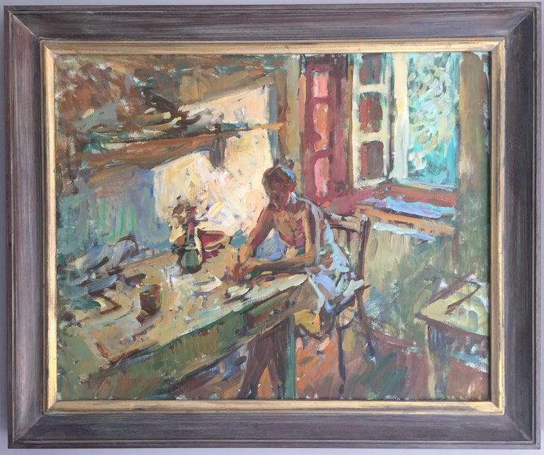 Ben Fenske - Steaks, Painting For Sale at 1stdibs